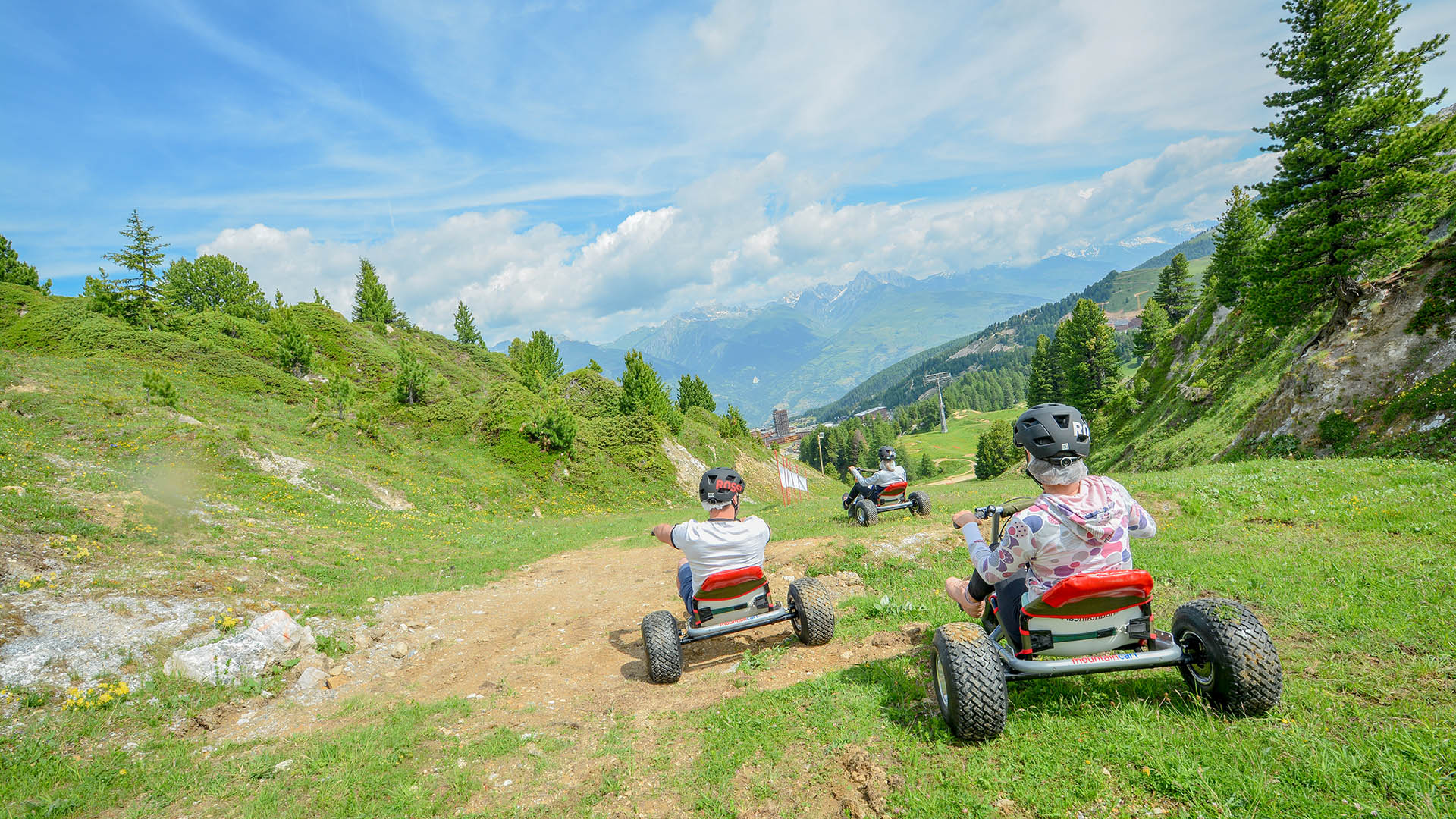 Mountain Cart La Plagne