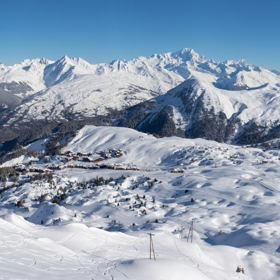 Panorama Plagne centre