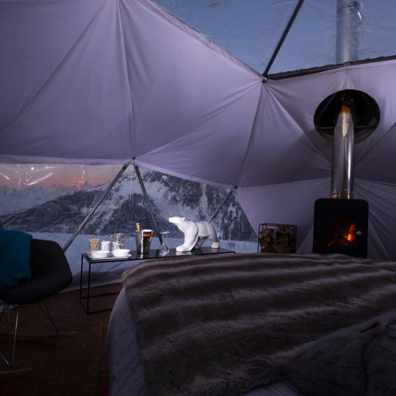 Hot Igloo La Plagne chambre