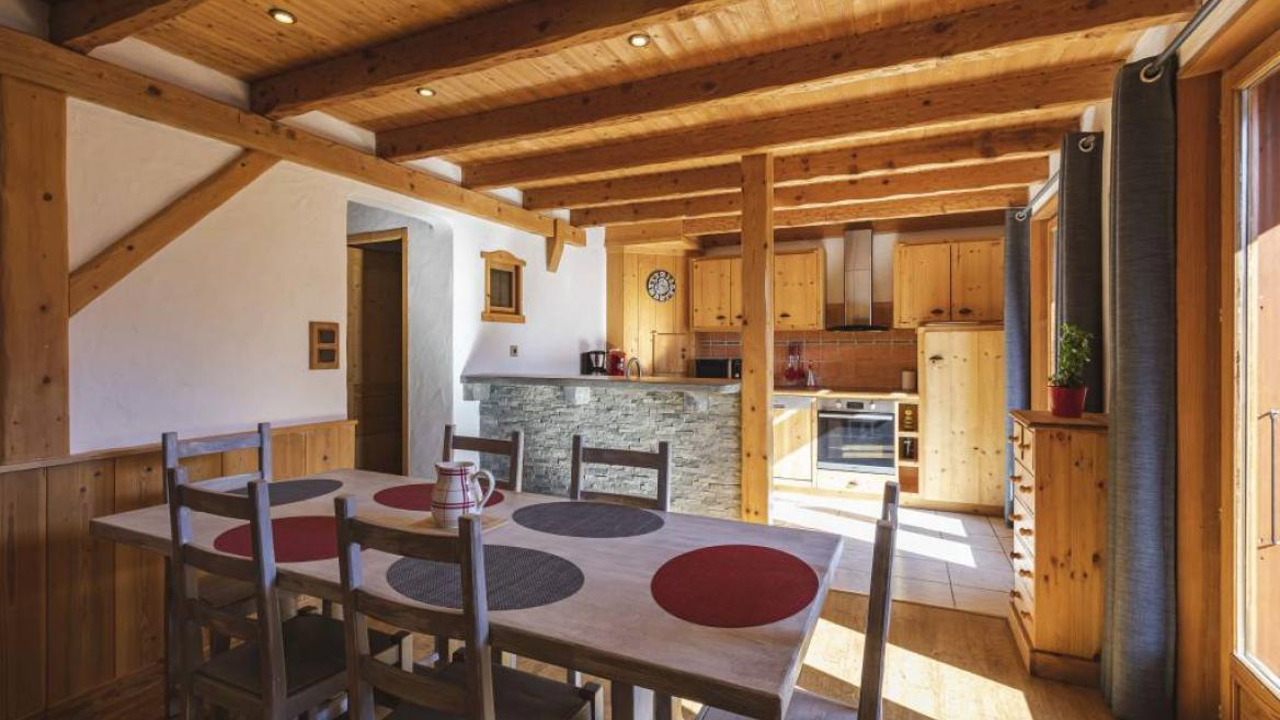 Chalet Le Sapin Bleu - appartement 6 pers.