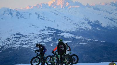 fat bike elpro La Plagne