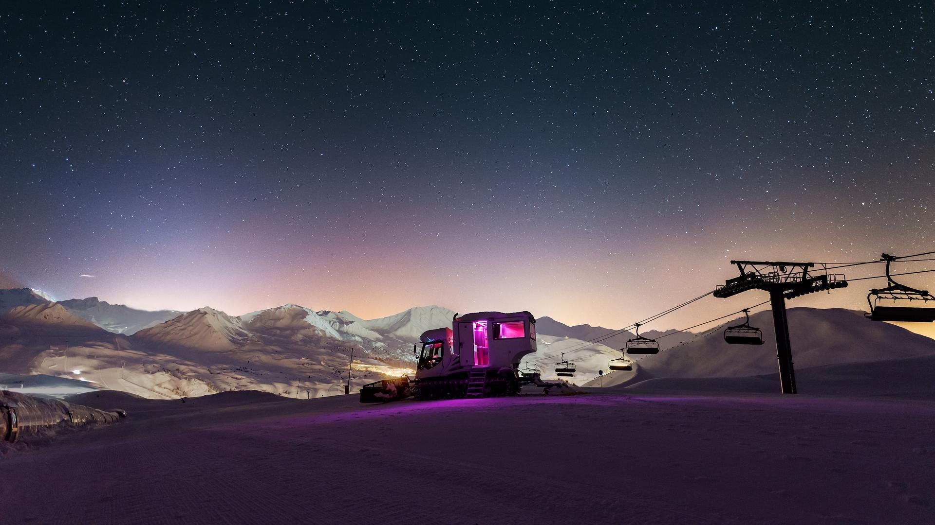 Nuit Insolite En Montagne Tentez L Hebergement Insolite La Plagne Savoie